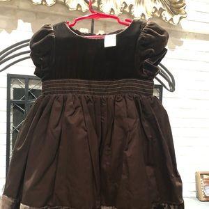 Gymboree, Chocolate party dress size 3T